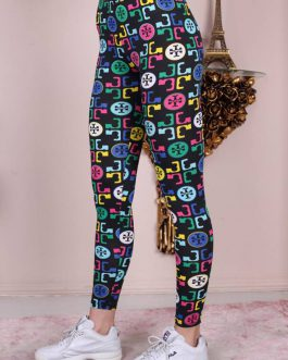 Women printed tight-WEETG018-96pcs
